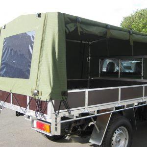 Army canopy side