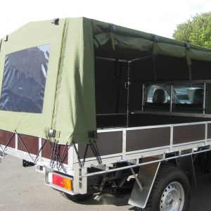 Army canopy side