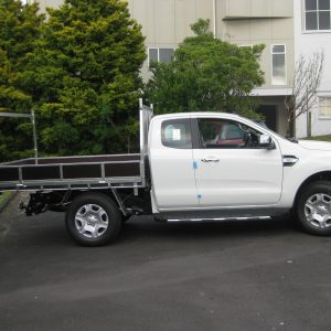 Ford ranger XC side